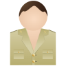 96x96px size png icon of Guardia Civil Without Uniform