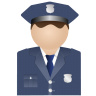 96x96px size png icon of Policeman Uniform