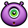 96x96px size png icon of Alien surprised