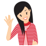 96x96px size png icon of girl swear