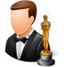 96x96px size png icon of Occupations Actor Male Light