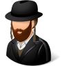 96x96px size png icon of Religions Jew Male