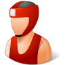 96x96px size png icon of Sport Boxer Male Light