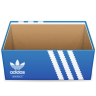 96x96px size png icon of Adidas Shoebox Open