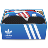 96x96px size png icon of Adidas Shoes In Box