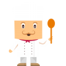 96x96px size png icon of chef