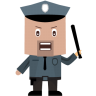 96x96px size png icon of cop