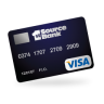96x96px size png icon of visa credit card
