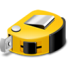 96x96px size png icon of tape measure