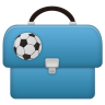 96x96px size png icon of Schoolbag boy