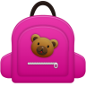 96x96px size png icon of Schoolbag girl