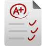 96x96px size png icon of Test paper