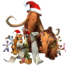 96x96px size png icon of Ice Age Christmas