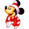 96x96px size png icon of Mickey Christmas