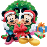 96x96px size png icon of Mickey Mouse Christmas