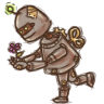 96x96px size png icon of Steampunk Robot