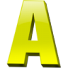 96x96px size png icon of Letter a