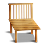 96x96px size png icon of Wood Chair