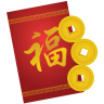 96x96px size png icon of red envelope