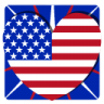 96x96px size png icon of Independence Day 1 Heart