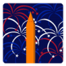96x96px size png icon of Independence Day 4 Fireworks