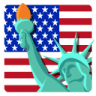 96x96px size png icon of Independence Day 7 Statue of Liberty