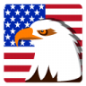 96x96px size png icon of Independence Day Eagle
