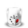 96x96px size png icon of Trash Full Dice