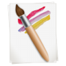 96x96px size png icon of Paintbrush