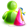 96x96px size png icon of birthday