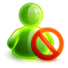 96x96px size png icon of blocked