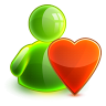96x96px size png icon of love