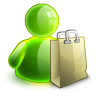 96x96px size png icon of shopping