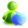 96x96px size png icon of talking