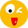 96x96px size png icon of Smiley 25
