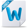96x96px size png icon of docx mac