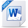 96x96px size png icon of docx win