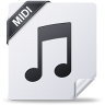96x96px size png icon of midi