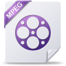 96x96px size png icon of mpeg