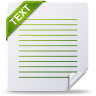 96x96px size png icon of text
