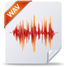 96x96px size png icon of wav