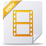 96x96px size png icon of wmv