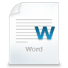96x96px size png icon of word