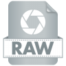 96x96px size png icon of Filetype RAW