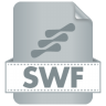 96x96px size png icon of Filetype SWF