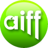 96x96px size png icon of AIFF green