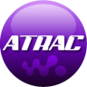 96x96px size png icon of ATRAC purple