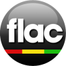 96x96px size png icon of FLAC black