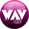 96x96px size png icon of WAV plum