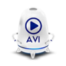 96x96px size png icon of File avi